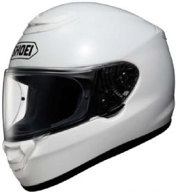 Shoei Qwest White Helmet